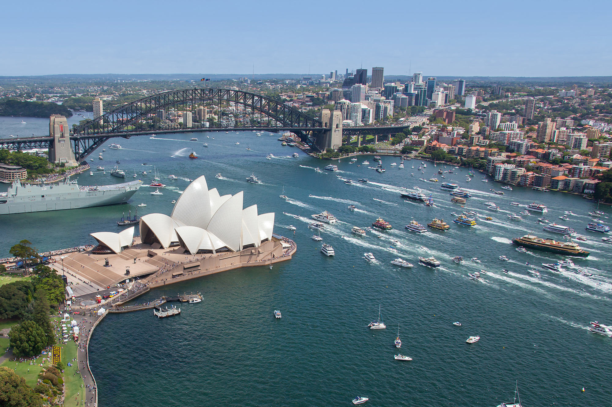 Australia Day, Sydney Harbour Cruise, Opera House