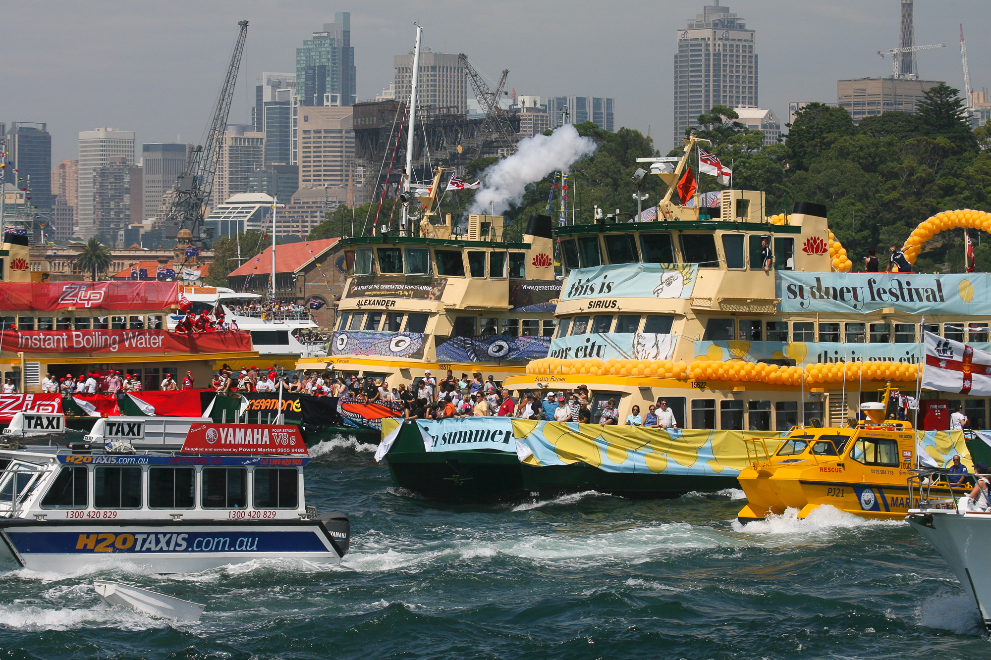 Ferrython, Sydney Ferries, Sydney Harbour Cruise