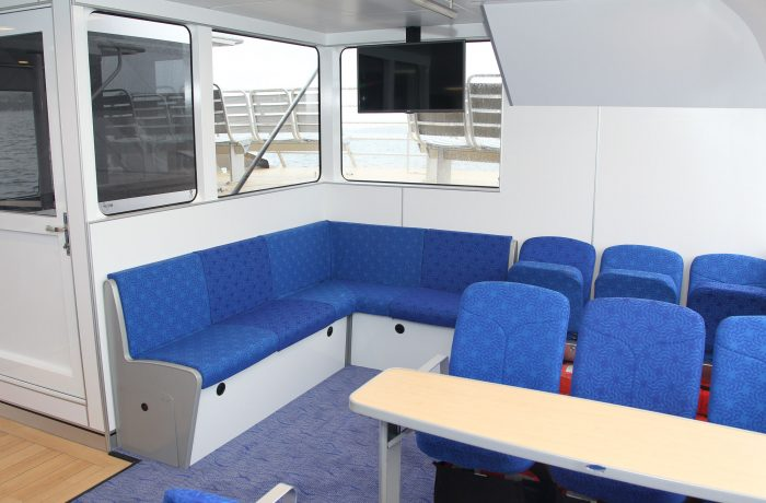 Comfortable Seats, Ocean Wave, Ocean Tracker