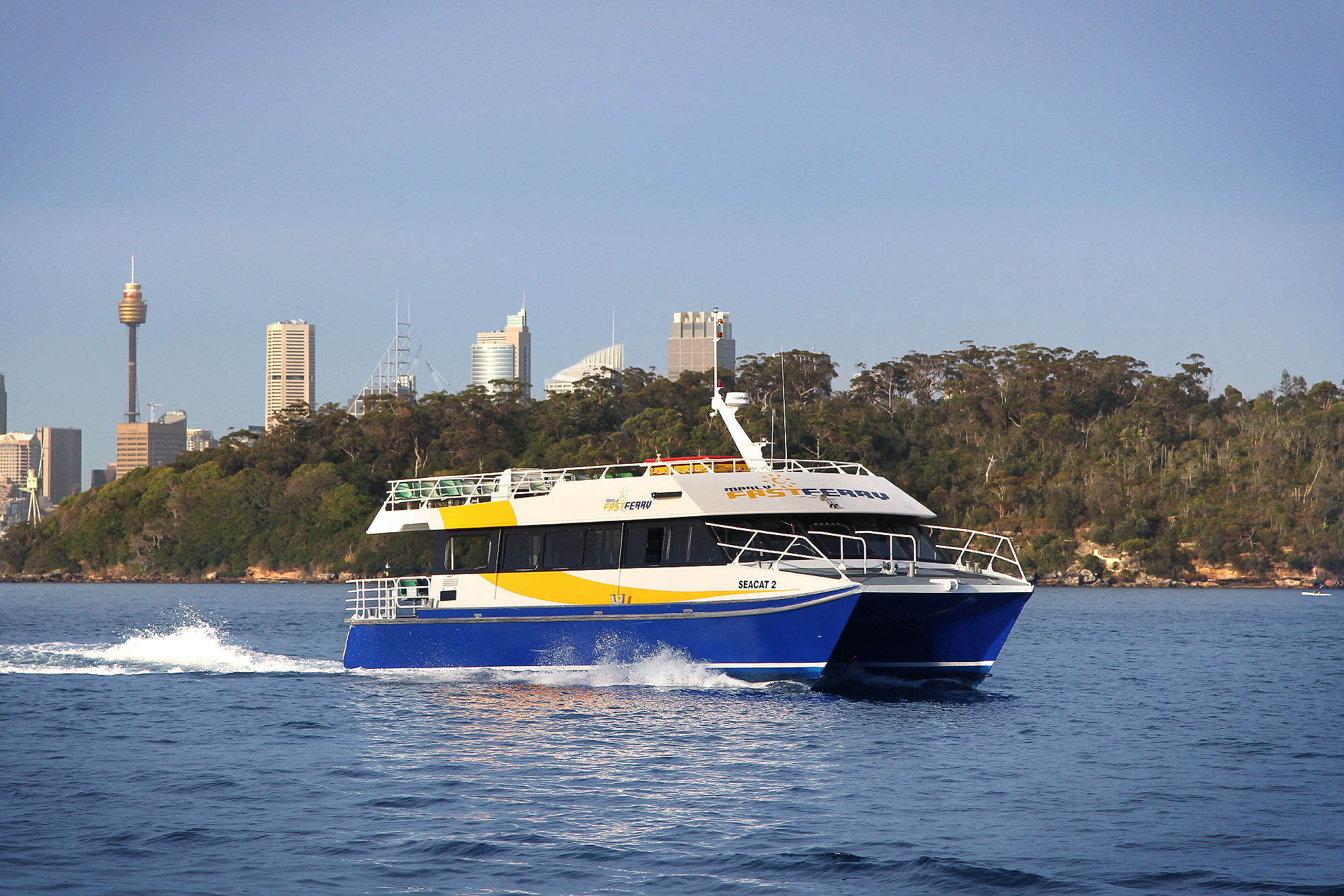 Sea Cat on Sydney Harbour