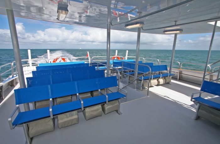 Outdoor Seating on Ocean Dreaming 2