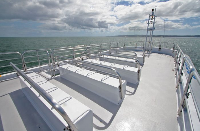 Open Top Deck on Ocean Dreaming 2
