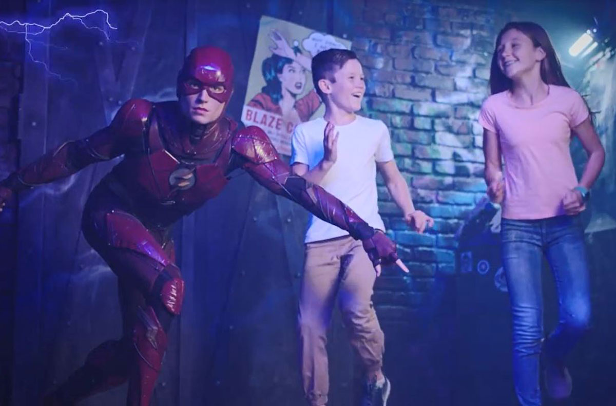 The Flash, Super Heroes, Madame Tussauds Sydney