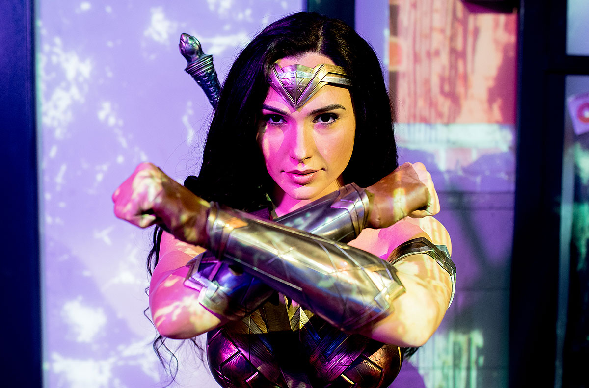 Wonder Woman, Super Heroes, Madame Tussauds Sydney
