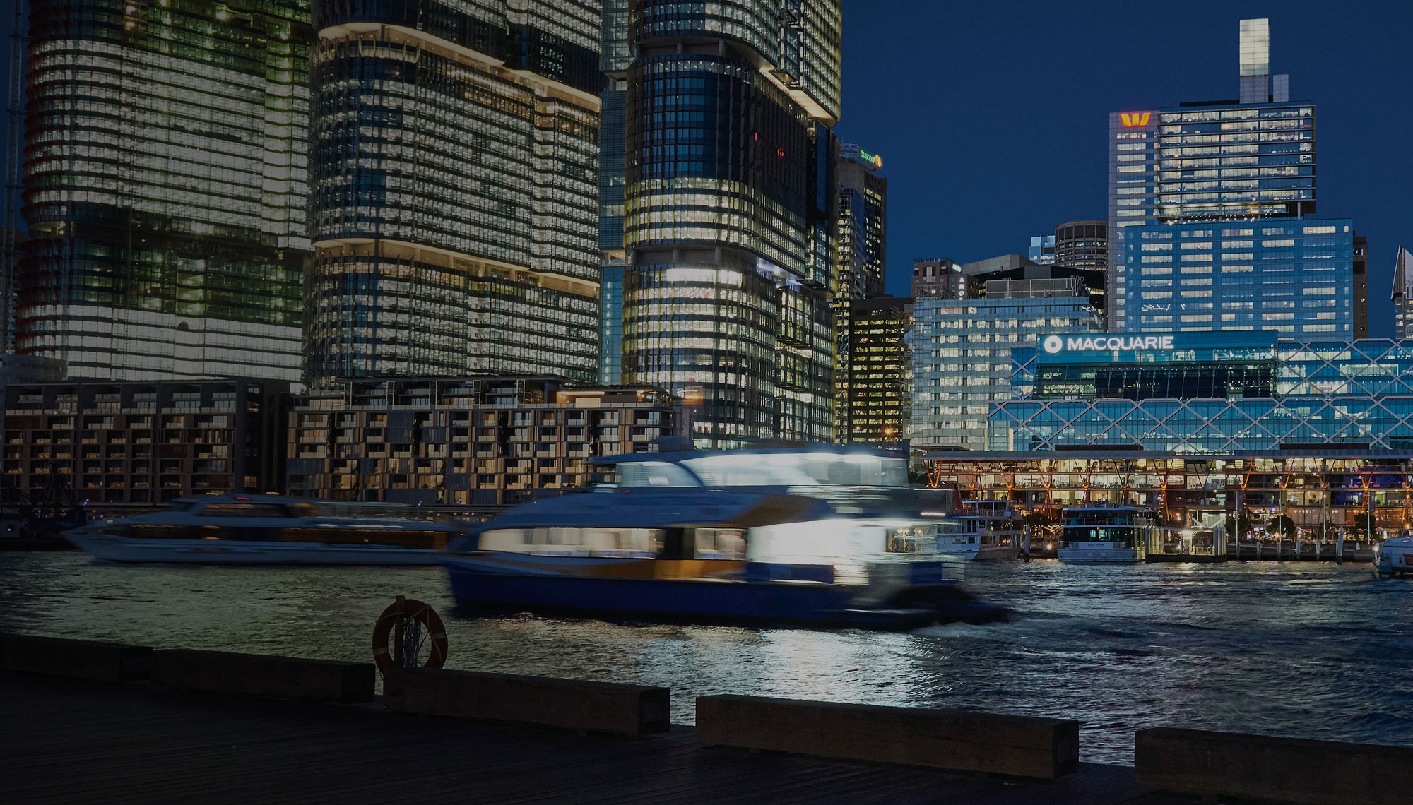 Darling Harbour, Barangaroo, Sydney Harbour Cruises