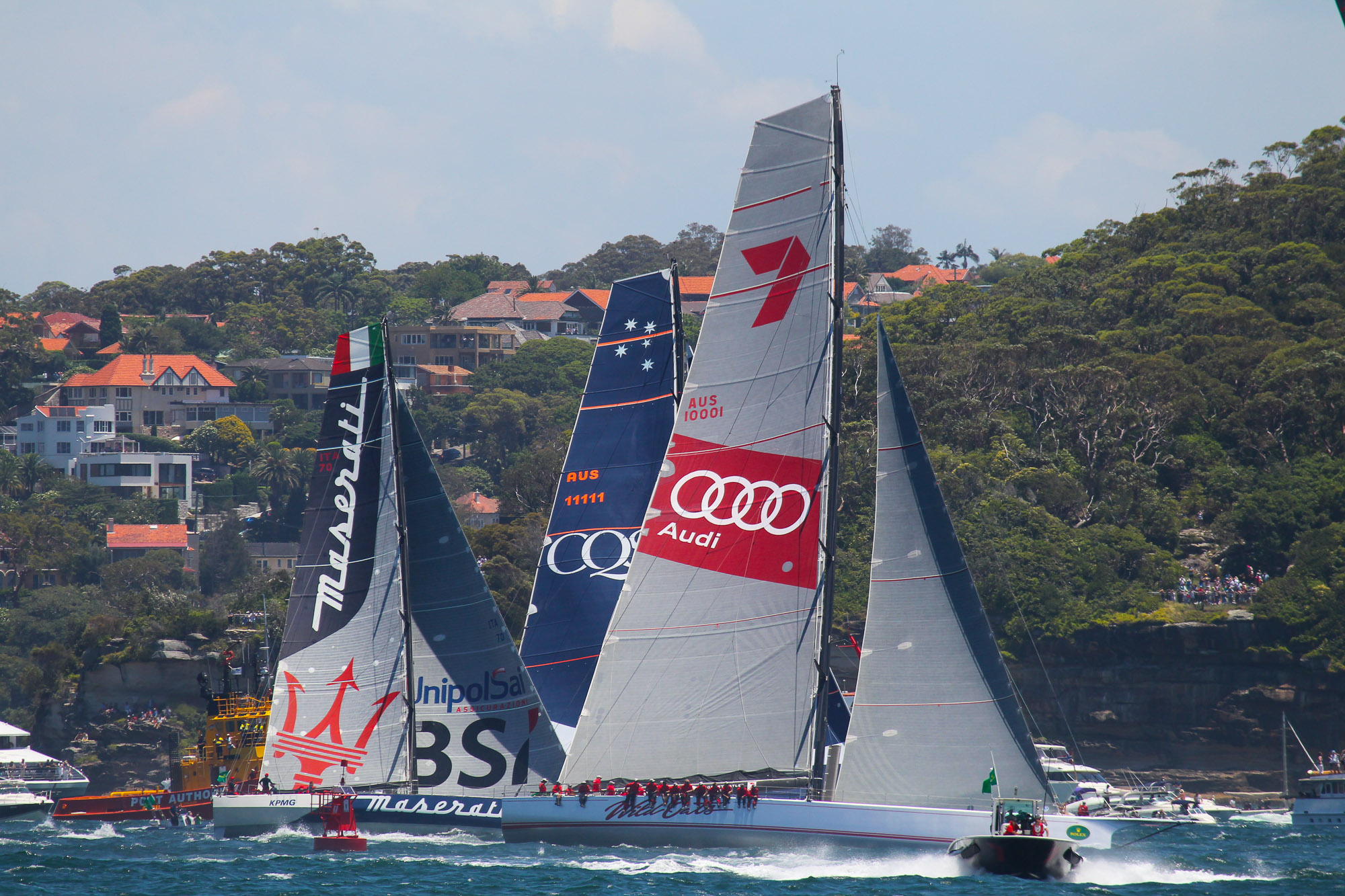 Race Start, Sydney To Hobart, Boxing Day