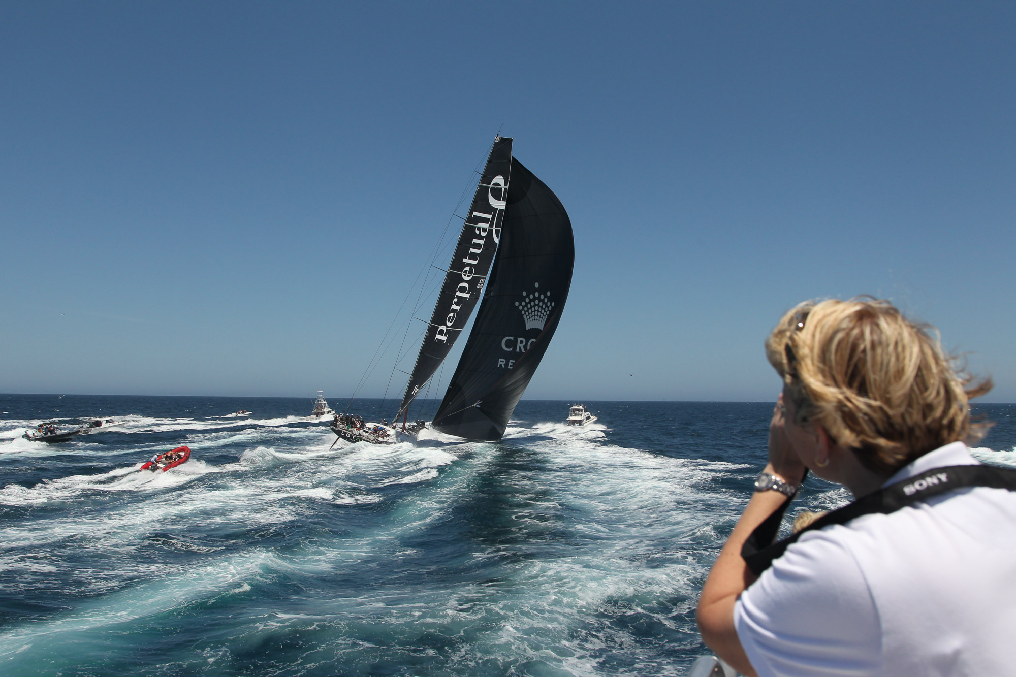 Open Ocean, Sydney To Hobart, Yacht Race
