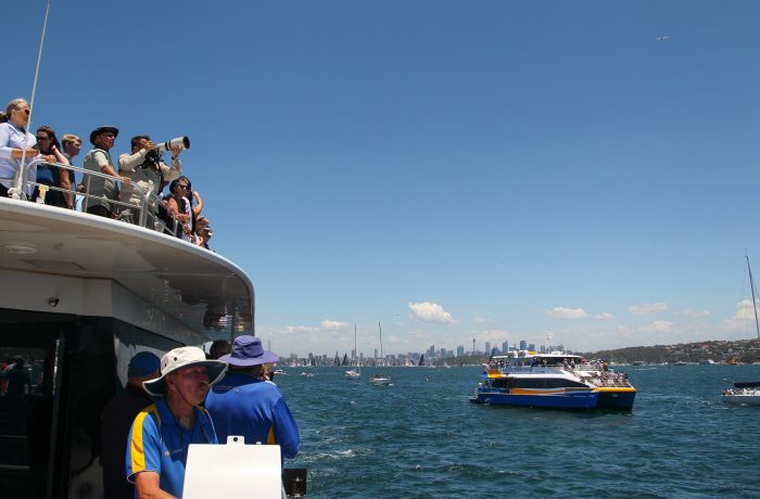 Race Start, Sydney Harbour, Boxing Day Cruise