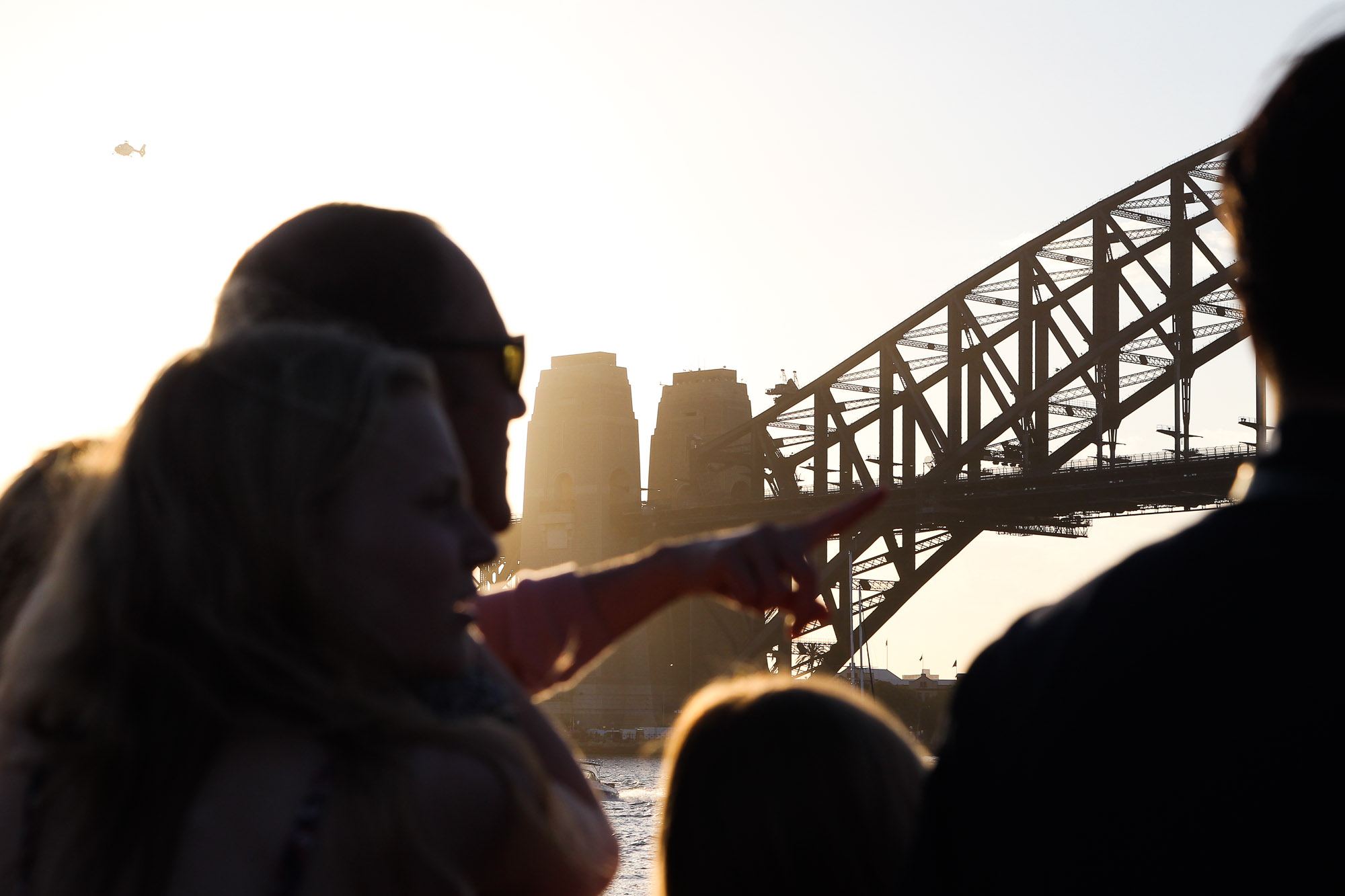 Harbour Bridge, New Years Eve, Sydney Harbour