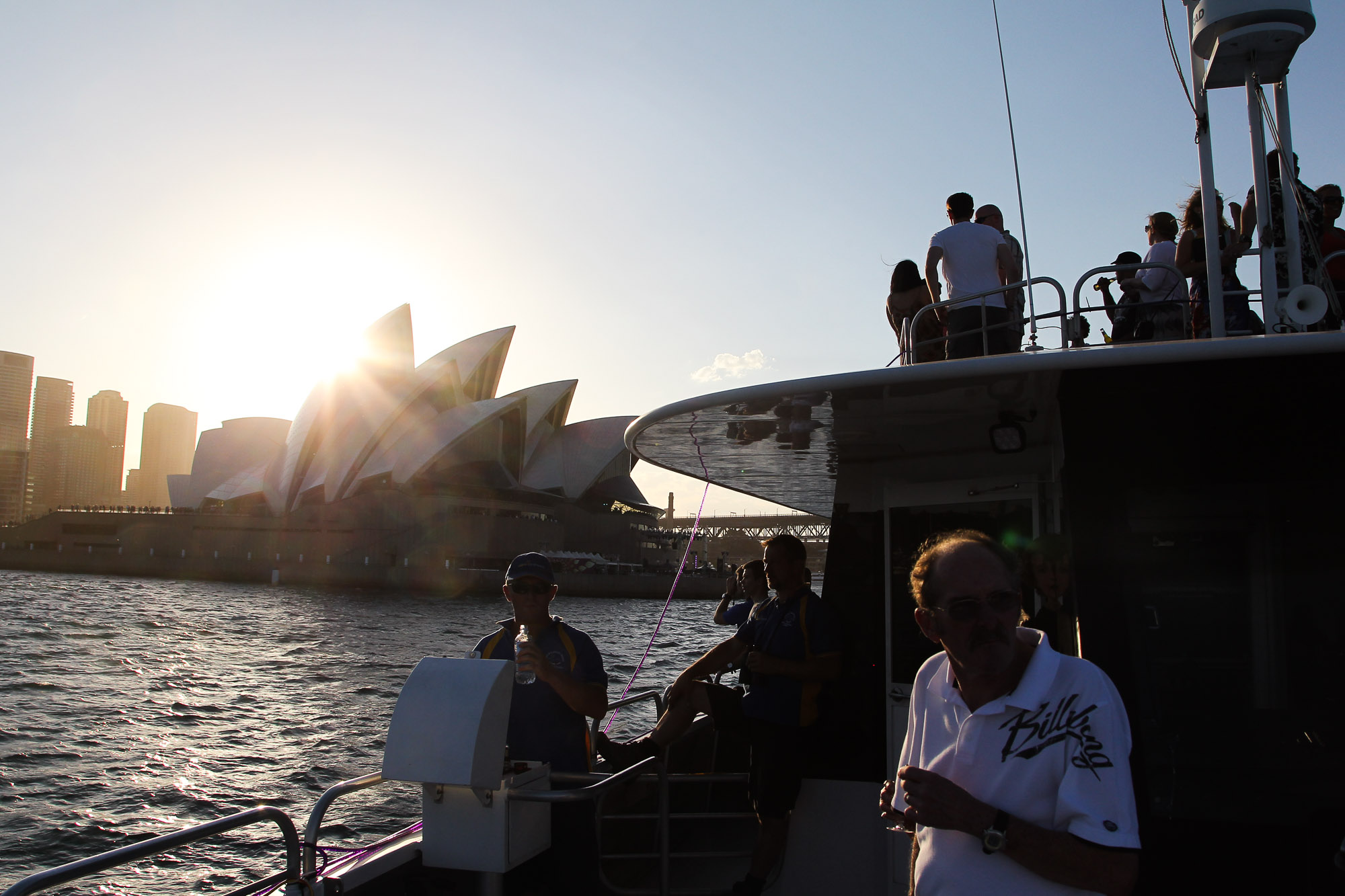 Sunset, NYE, Opera House