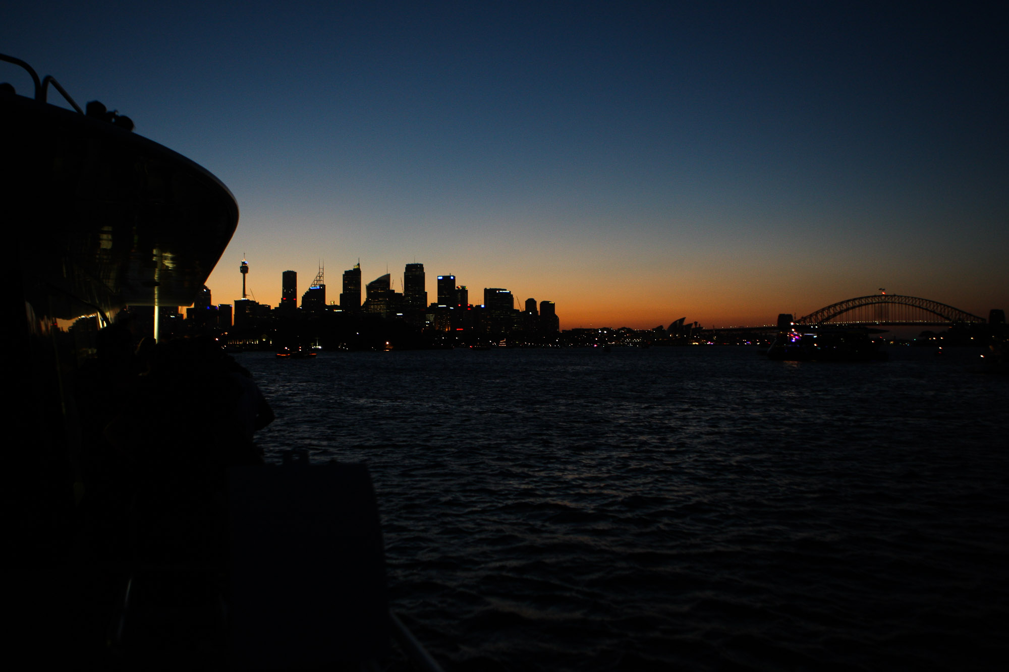 Dawn, Sydney Harbour, NYE