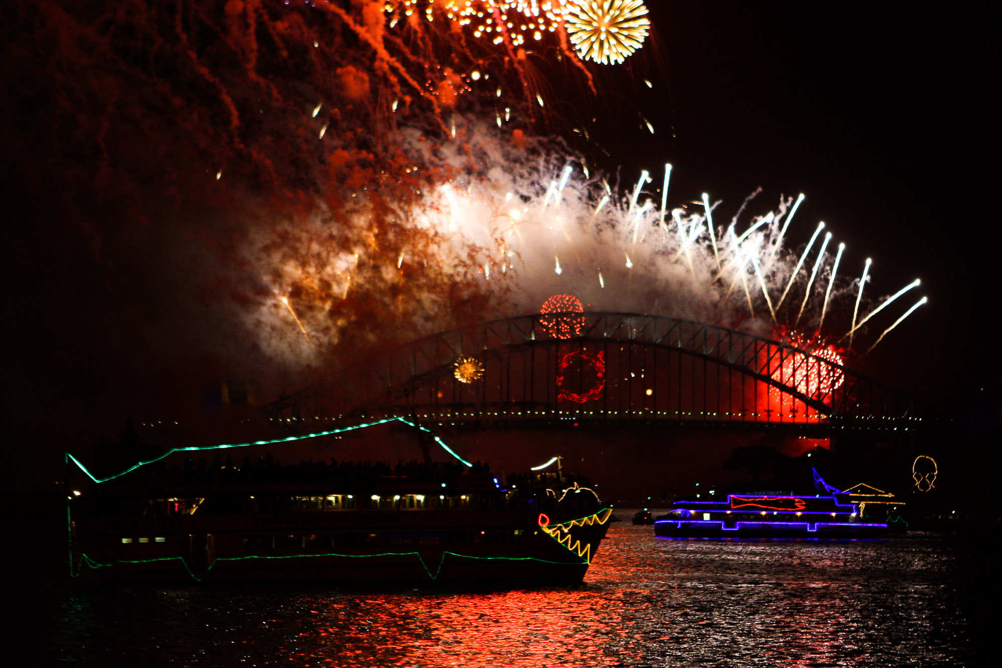 New Years Eve, Sydney Harbour, Cruise, Fireworks