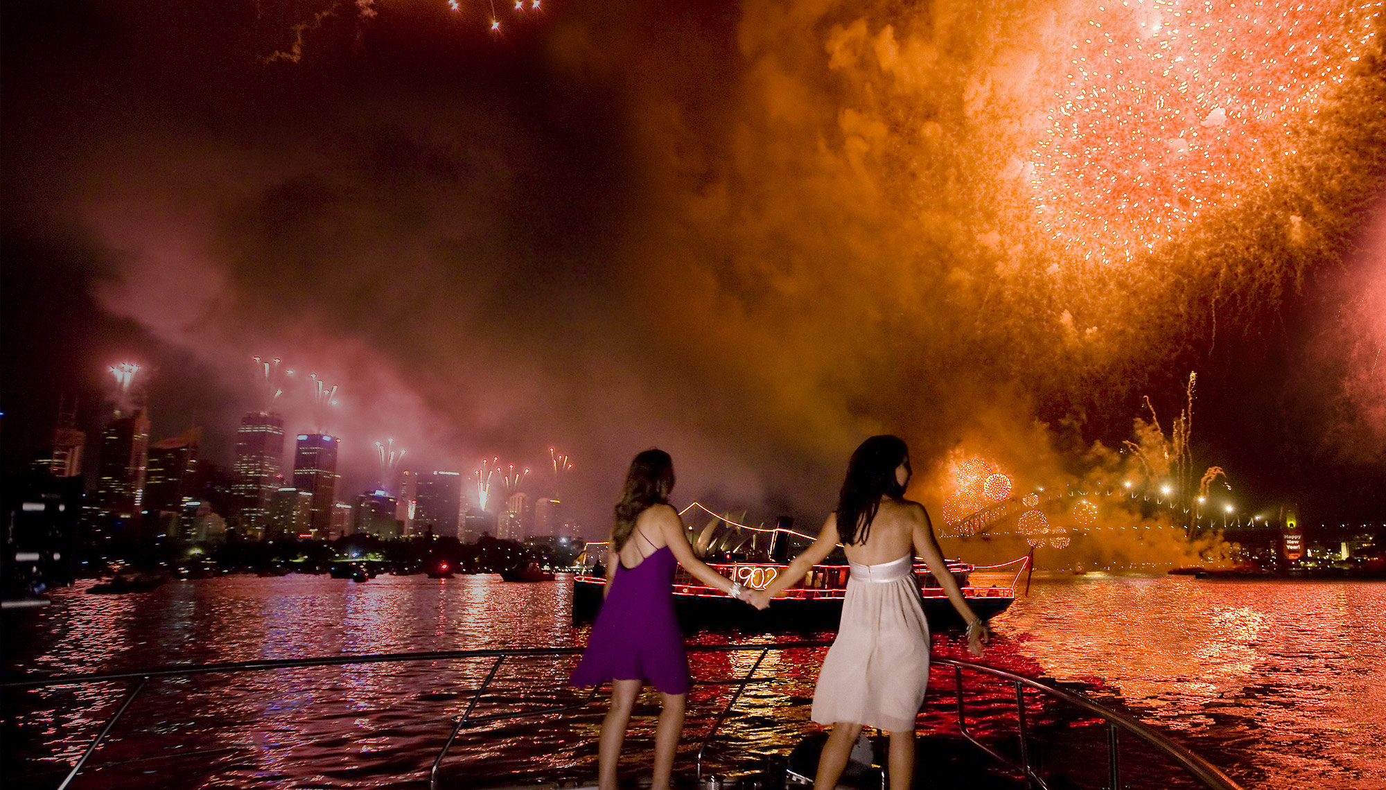 New Years Eve, Fireworks, Sydney Harbour