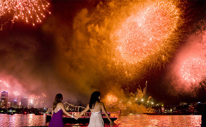New Years Eve, Fireworks, Sydney Harbour Cruise