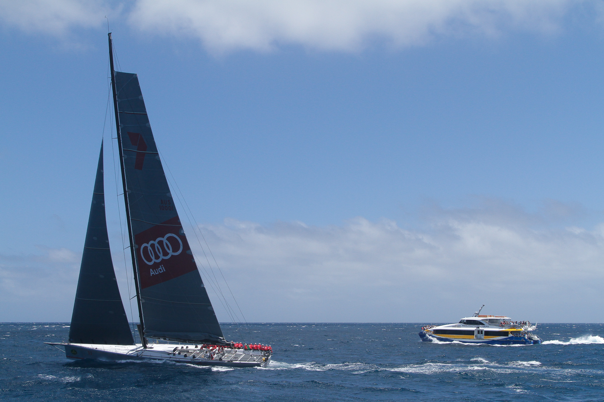Ocean Rider, Open Ocean, Boxing Day Cruise, Wild Oats