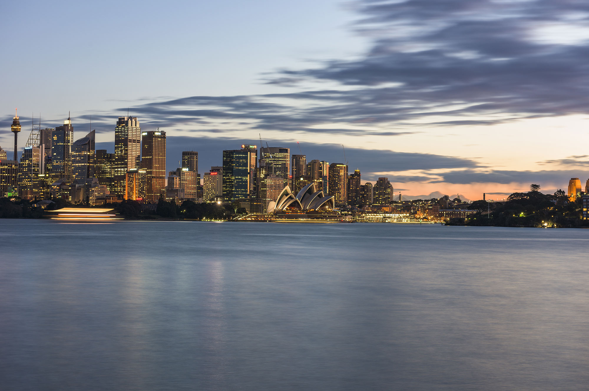 Sunset, Sydney Harbour Cruise