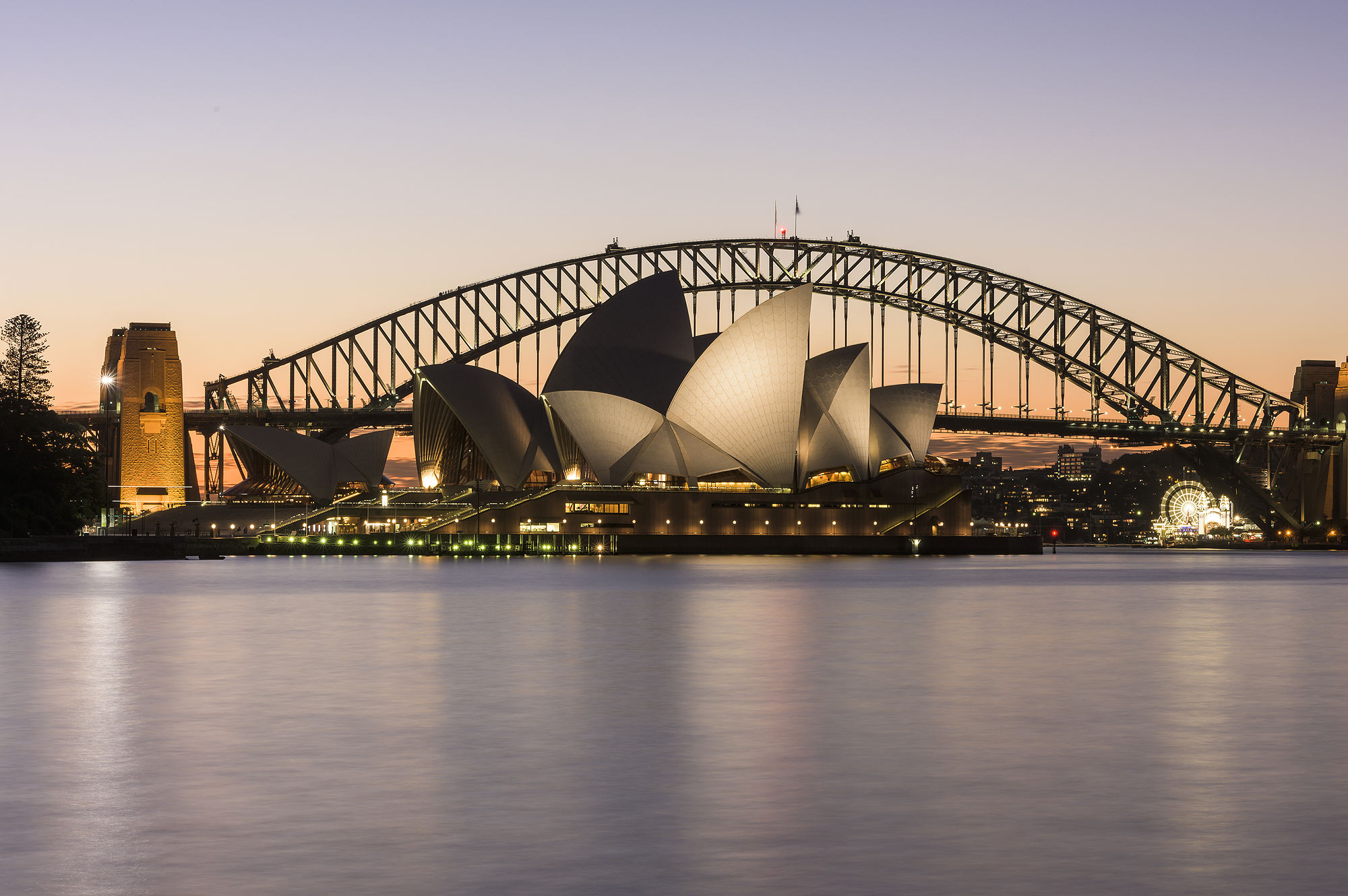 Sunset, Sydney Harbour Cruise, Opera House, Harbour Bridge