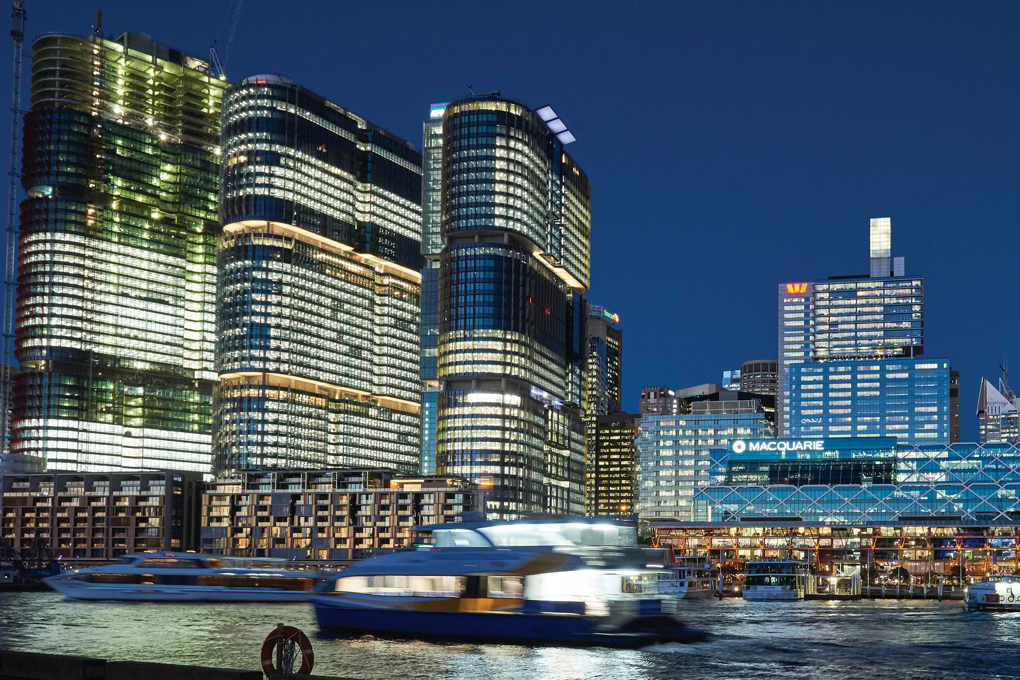 Darling Harbour, Barangaroo, Sydney Harbour Destination