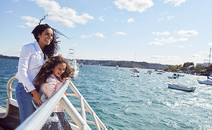 1 hour City Sights, Sydney Harbour Cruise