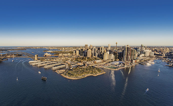 Darling Harbour, Barangaroo, Ferry