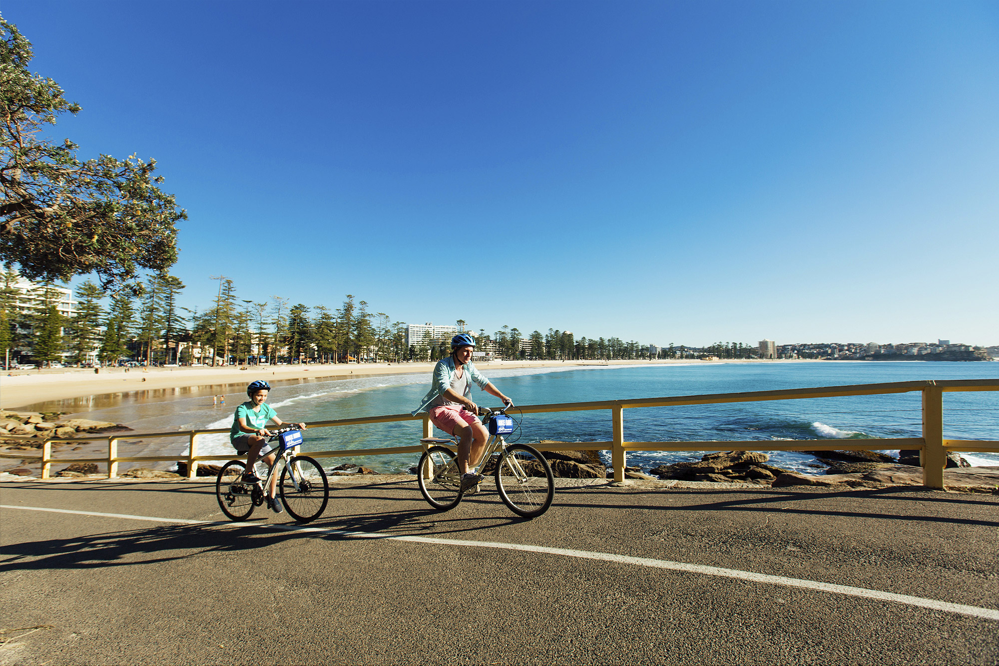 Bike tours at Manly Beach
