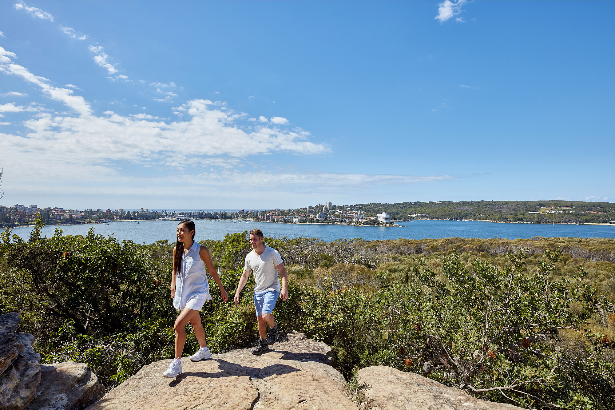 Coastal views of Sydney Harbour, Balgowlah Heights.