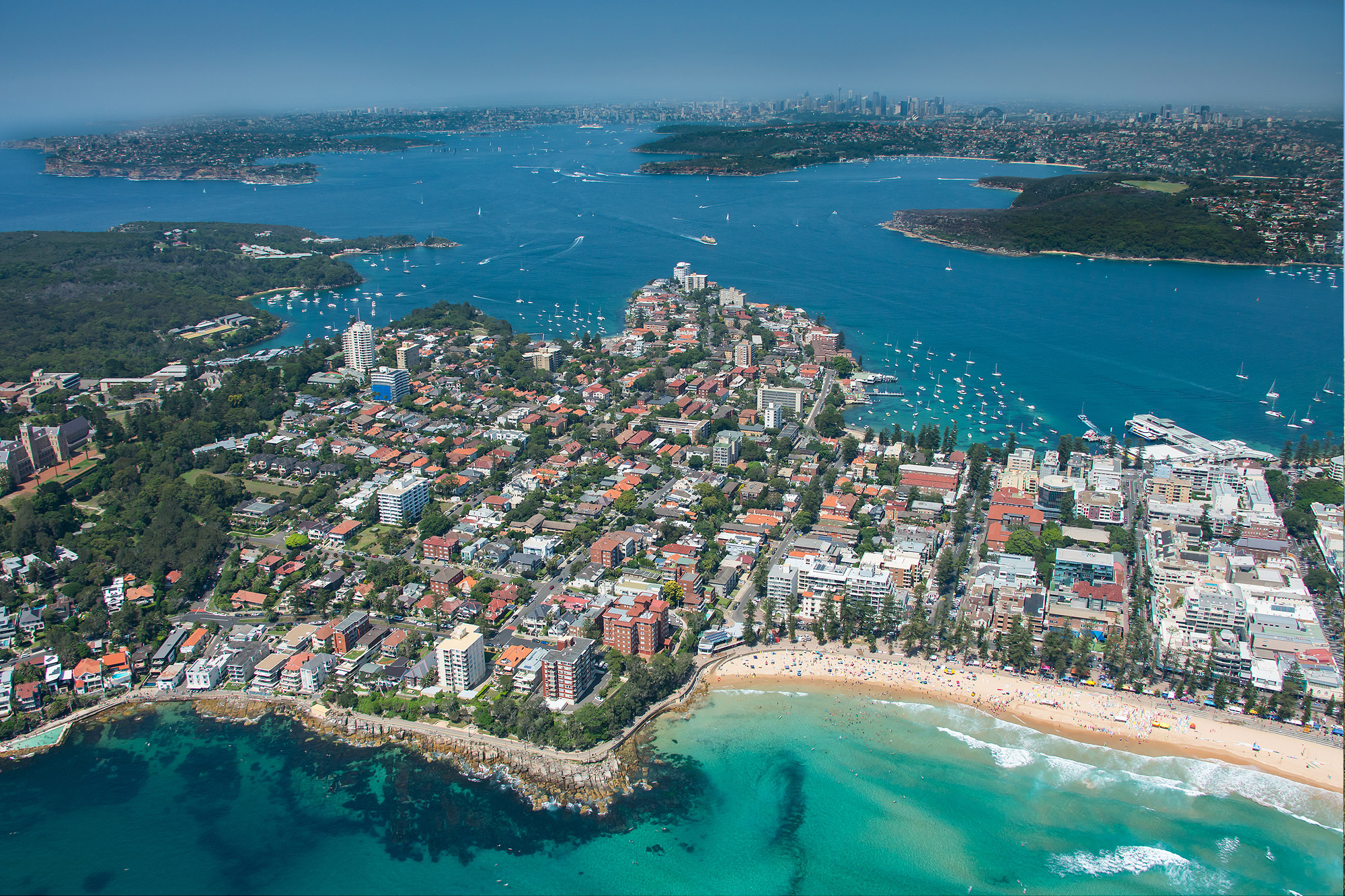 Iconic Manly Beach