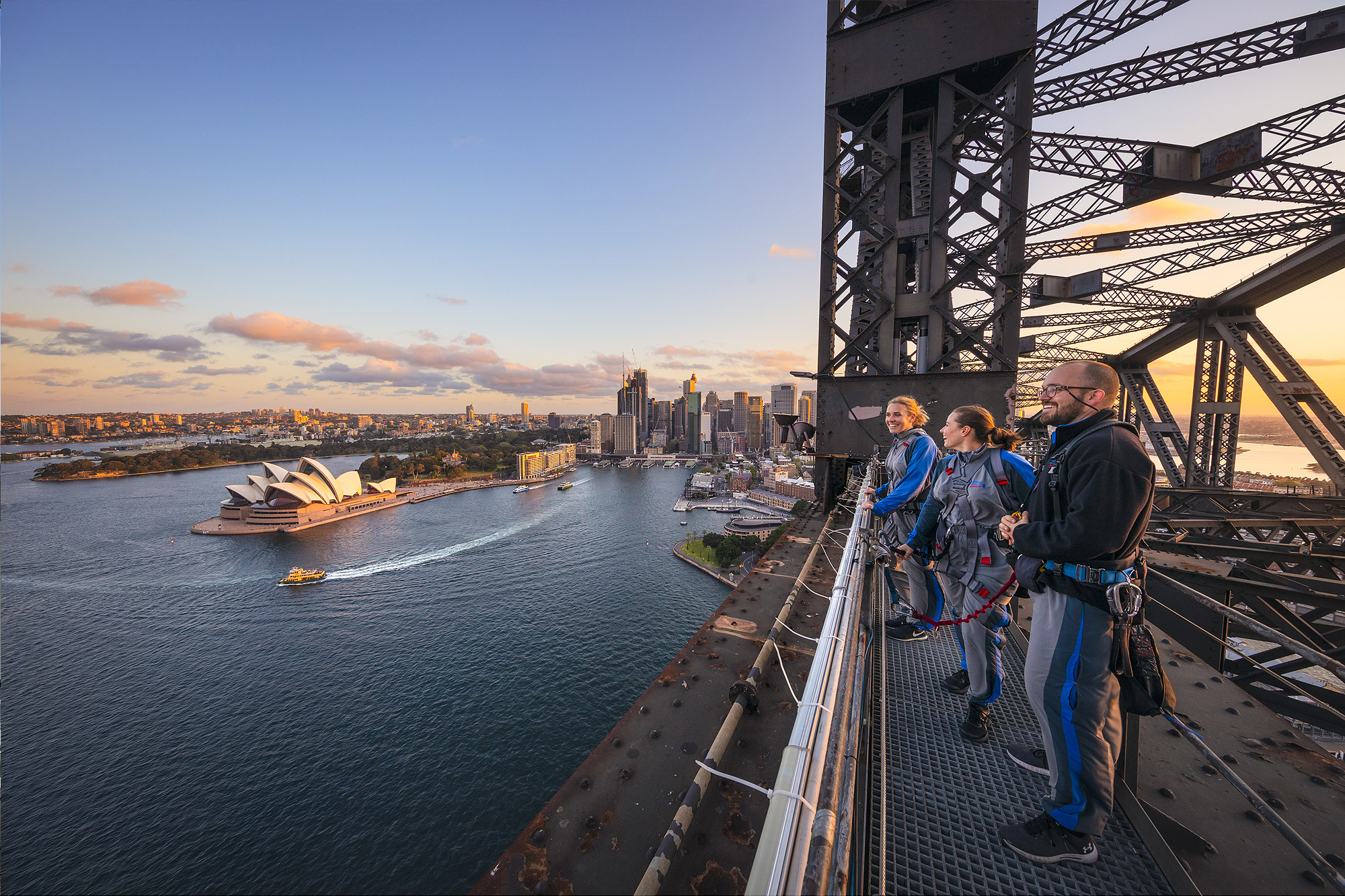 BridgeClimb, Sydney Harbour Bridge, Opera House