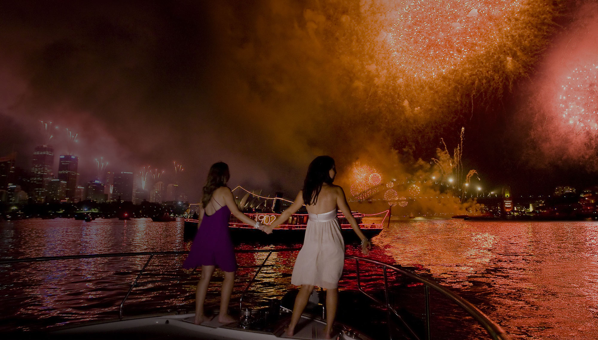 New Years Eve Fireworks, Sydney Harbour Cruise