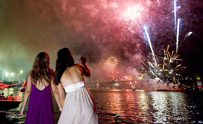 New Years Eve Fireworks Cruise, Sydney Harbour