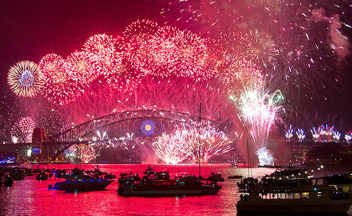 Family Friendly 9pm Fireworks Cruise, NYE, Sydney Harbour