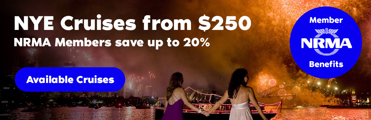 New Years Eve, NRMA Blue, Discount, Sydney Harbour Cruise
