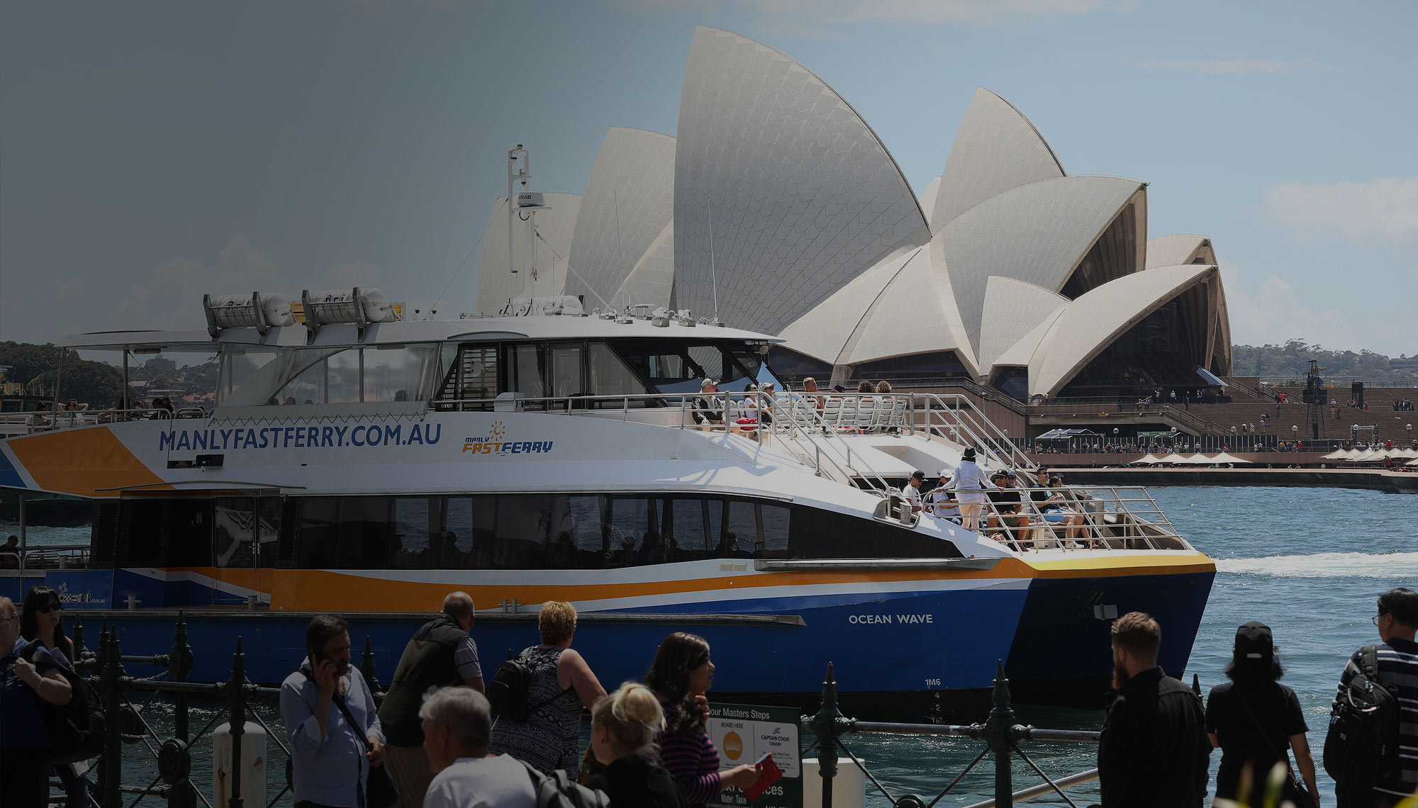 My Fast Ferry, Sydney Harbour Cruises, Hop On Hop Off